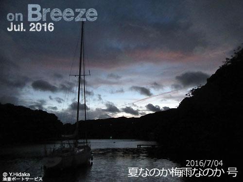夏なのか梅雨なのか(2016/07/04)号