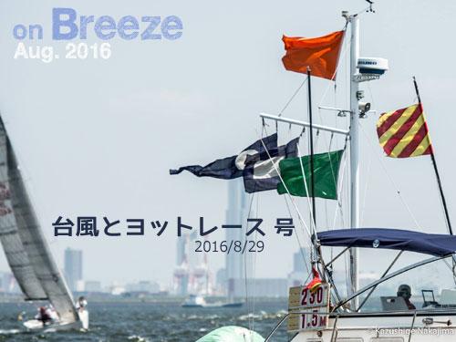 台風とヨットレース(2016/08/29)号