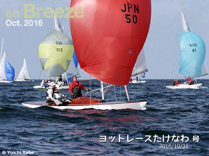 ヨットレースたけなわ(2016/10/31)号